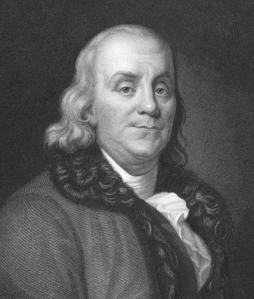 FRANKLIN IDENTIFIES LIGHTNING WITH ELECTRICITY