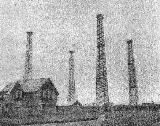 Poldhu Power Station, Cornwall, England.