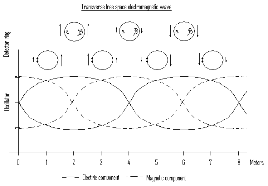 Transversal electromagnetic waves